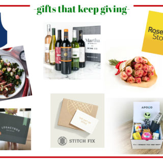 Gifts that Keep Giving - great list of gift ideas that keep giving throughout the year!
