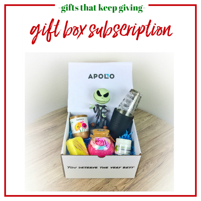 Gifts that Keep Giving - Gift Box Subscription