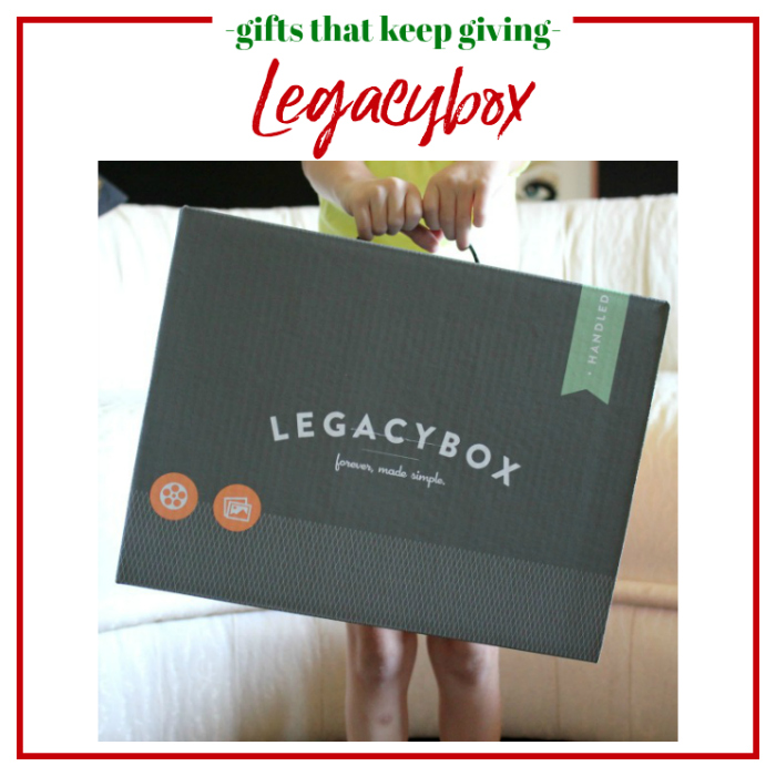 Gifts that Keep Giving - Legacybox