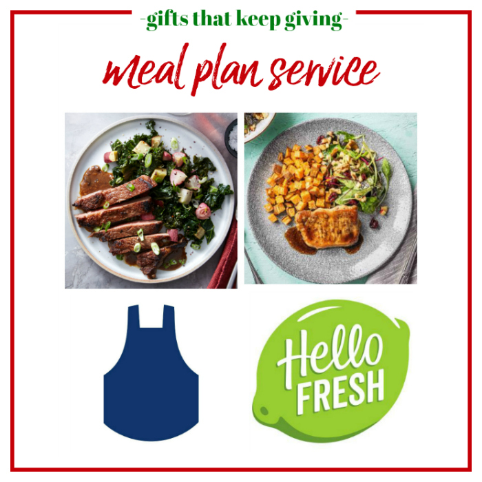 Gifts that Keep Giving - Meal Plan Service