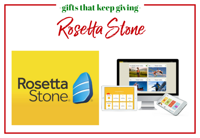 Gifts that Keep Giving - Rosetta Stone