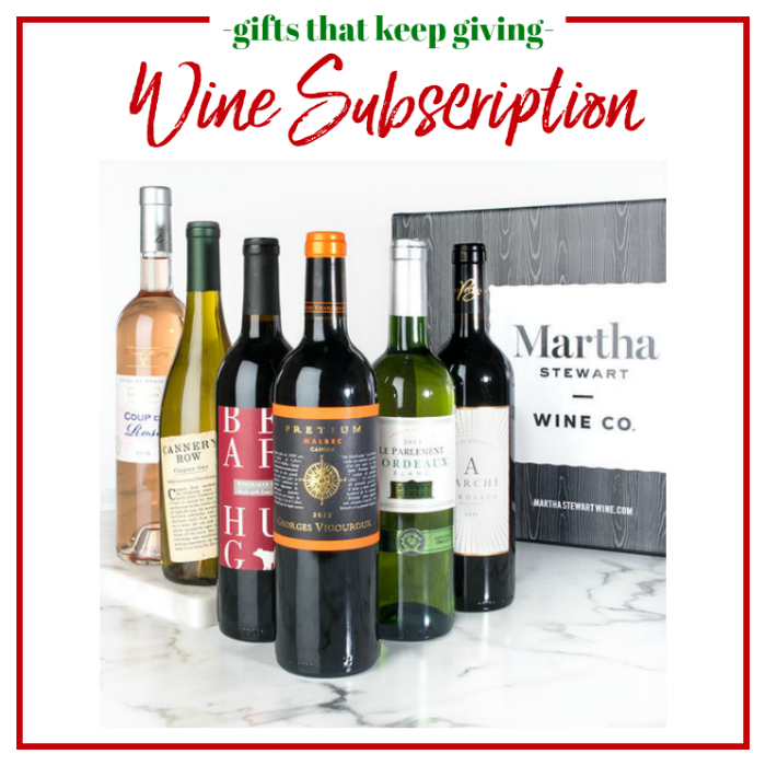 Gifts that Keep Giving - Wine Subscription