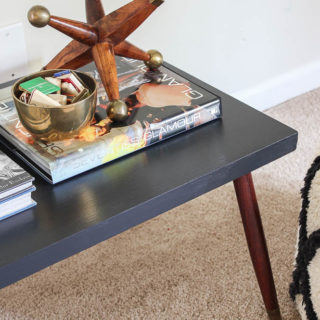 Two-Tiered Table Makeover | How to Remove the Top Tier