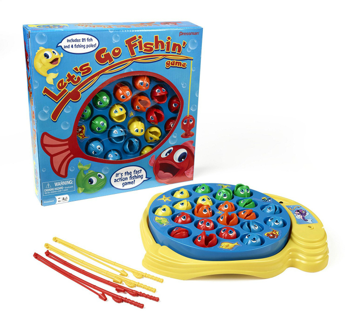 What the Circus is Getting for Christmas - Fishing Game