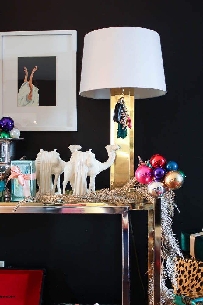 A Colorful Chic Christmas Home Tour