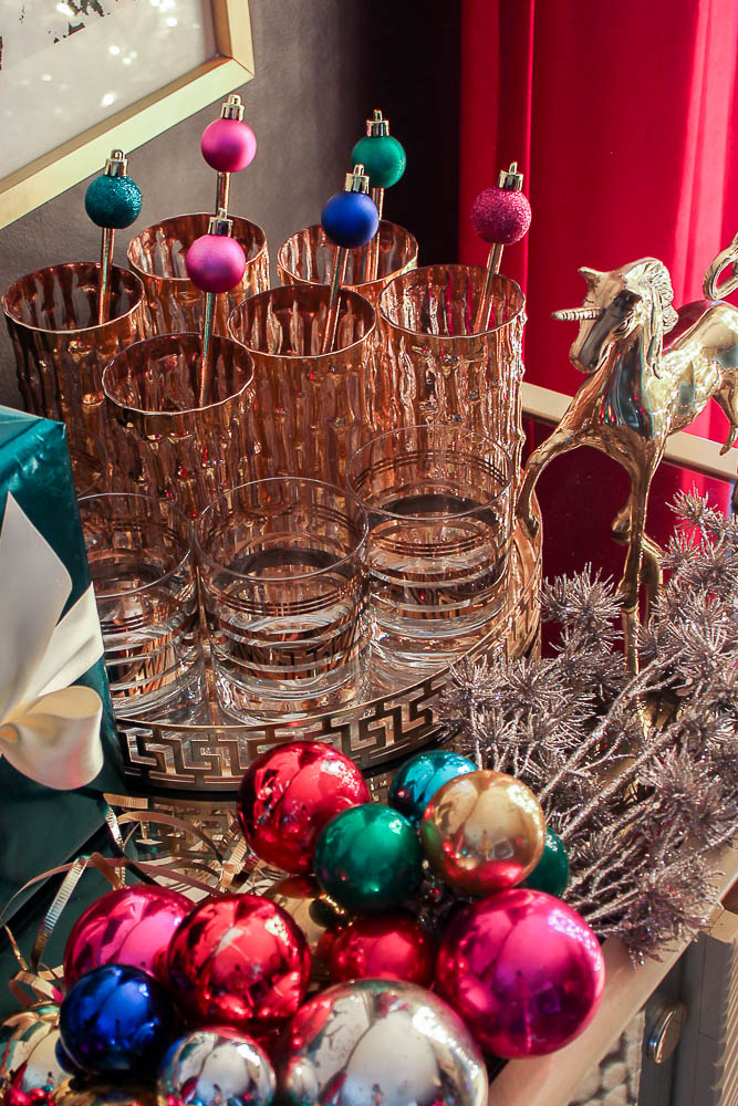 a colorful christmas home tour simple holiday decorating ideas full of color