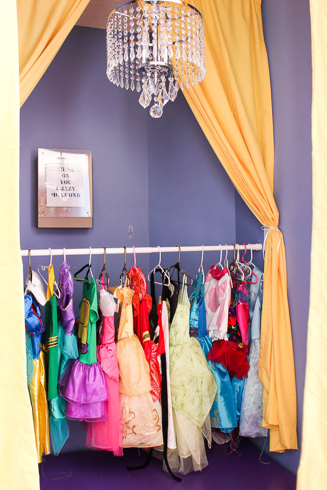 DIY Children's Stage with Hidden Dress-Up Clothes Storage