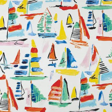 Sailboat Cheap and Affordable Home Decor and Upholstery Fabric by the yard