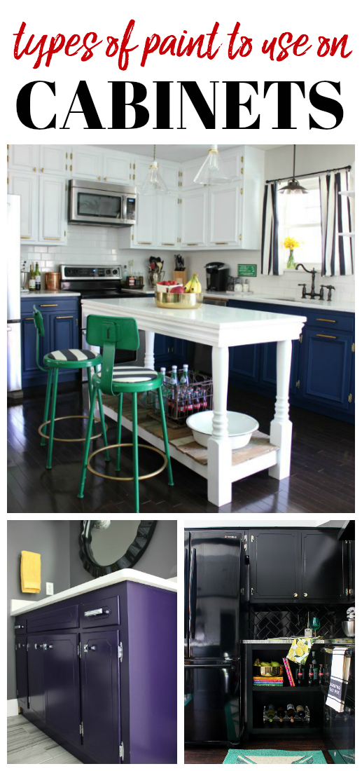 Exceptionnel Lists Various Different Types Of Paint For Cabinets As Well As Pros, Cons  And Durability