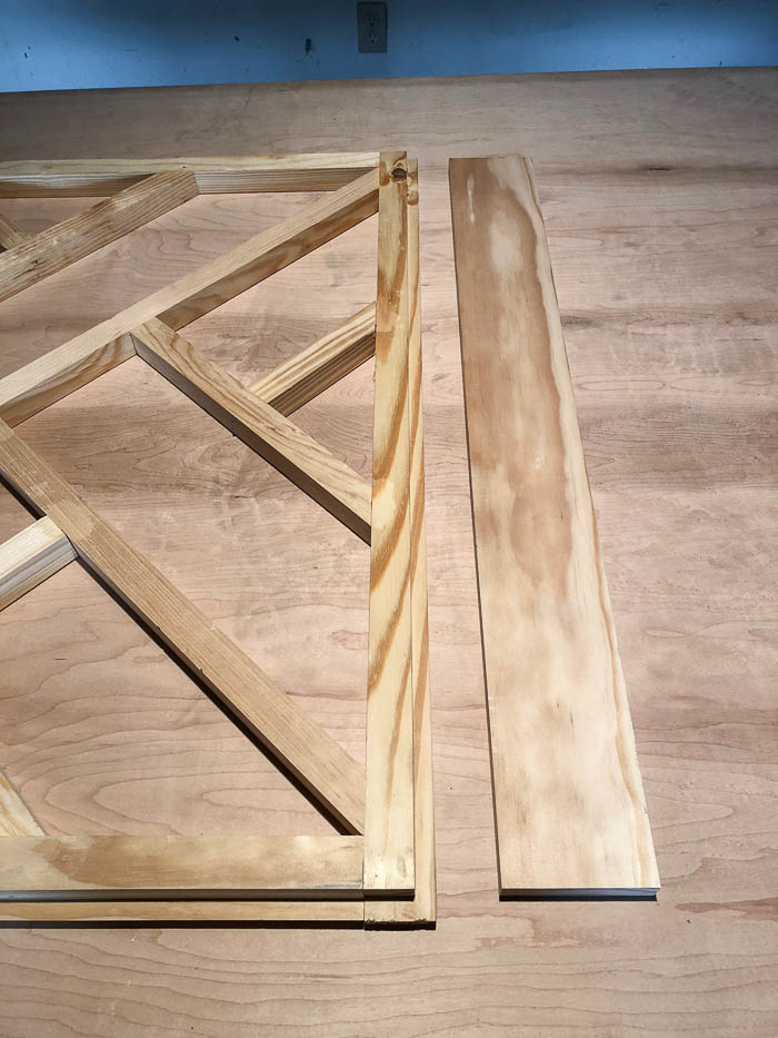 DIY Chippendale Desk - easy DIY desk build.