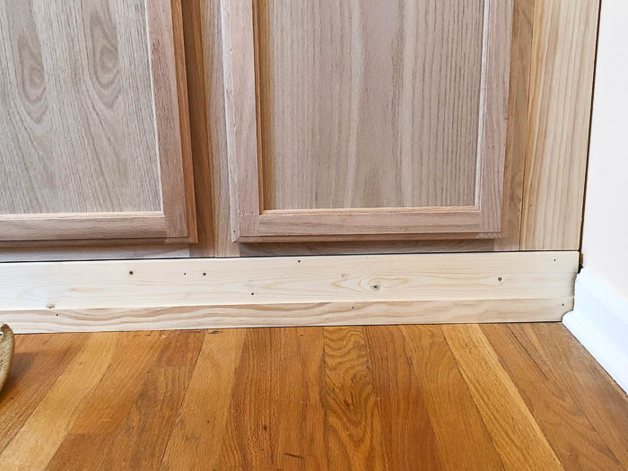 Diy Built In Cabinets Using Prefab Cabinets Step By Step