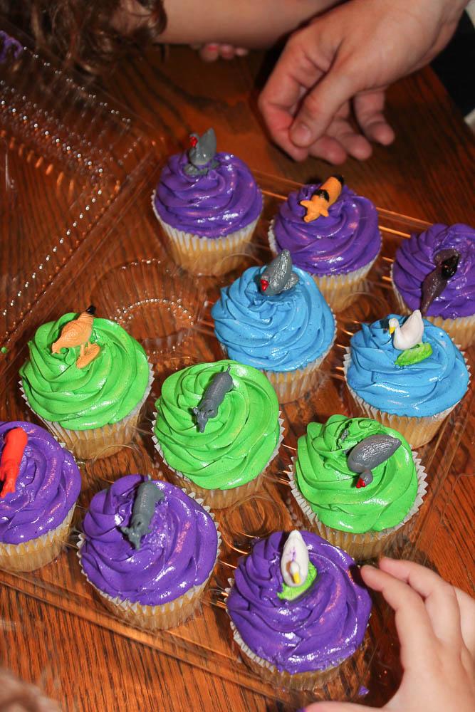 Farm Birthday Party Cupcakes