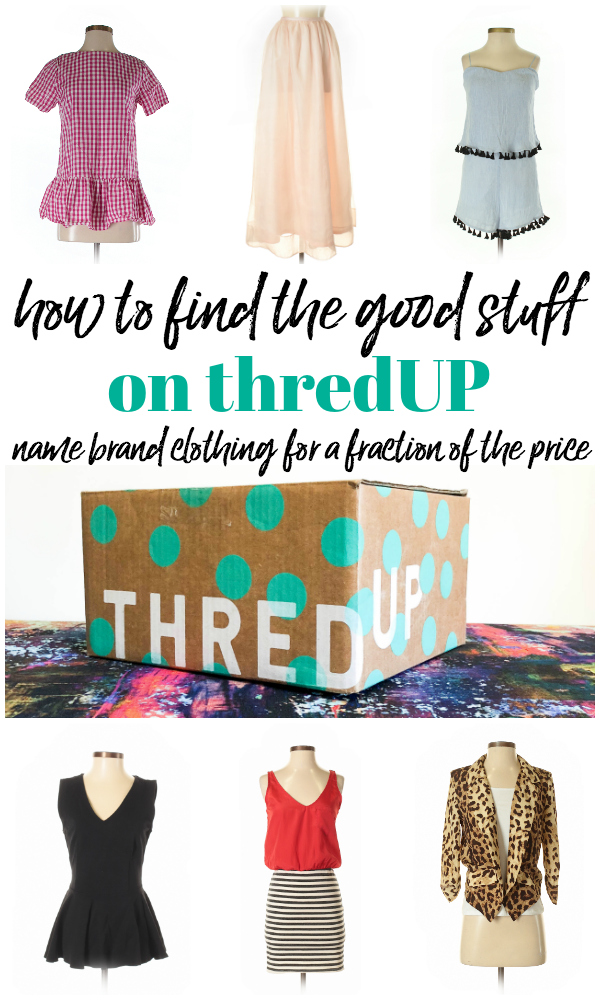 How to Find the Good Stuff on thredUP - a review of thredUP, a secondhand online marketplace for name brand clothing. #thredup #fashion #frugalfashion #affordablefashion #thredupoutfits #thredupcoupon #thredupclothes #thredupreview #frugalfashionista #frugaloutfits #outfitideas