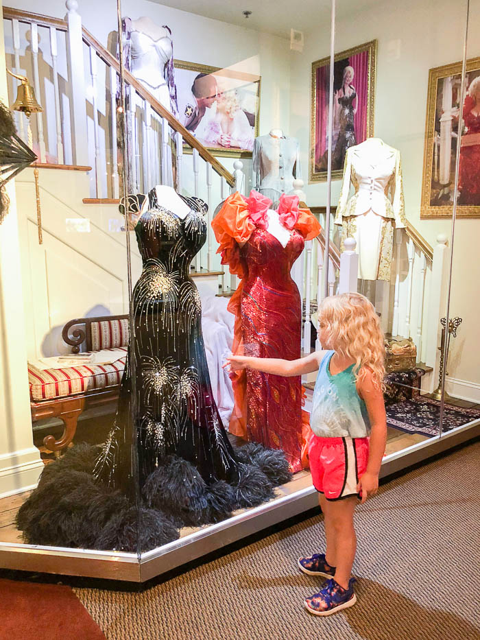Chasing Rainbows Museum about Dolly Parton at Dollywood in Pigeon Forge