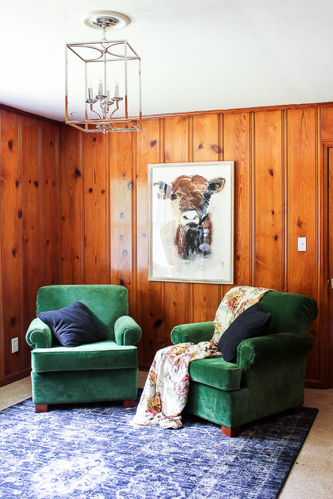 Decorating Ideas for Knotty Pine Paneling Living Room