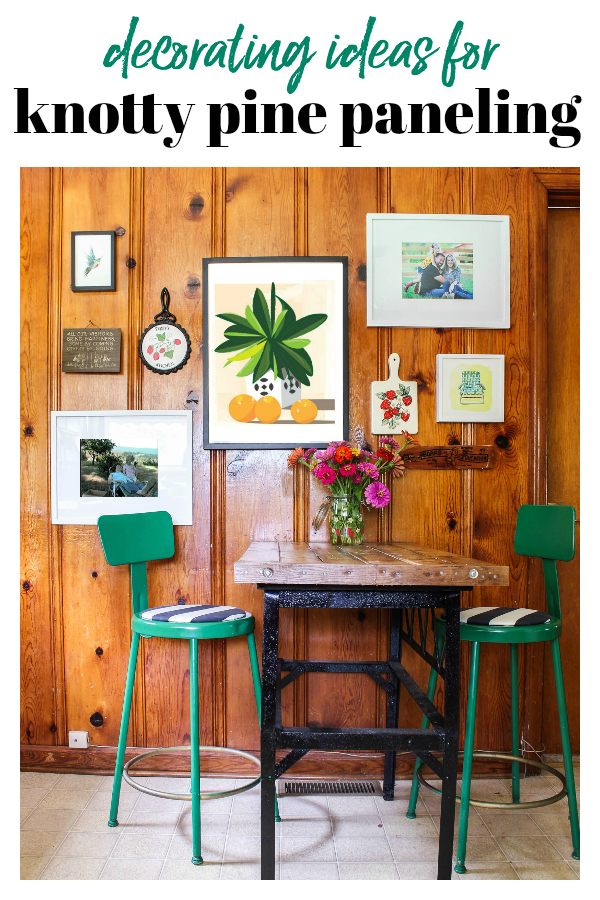 Knotty Pine Walls Decorating Ideas What Works With Knotty