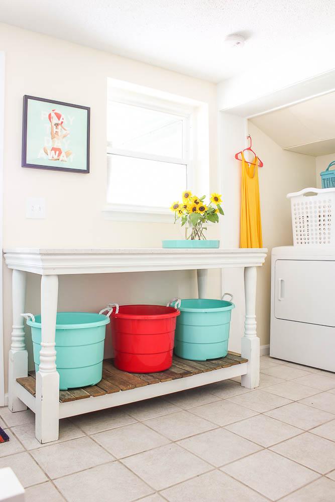 Mudroom Laundry Room Combination