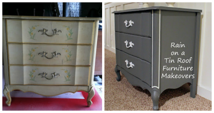 Painted Bedside Table Ideas