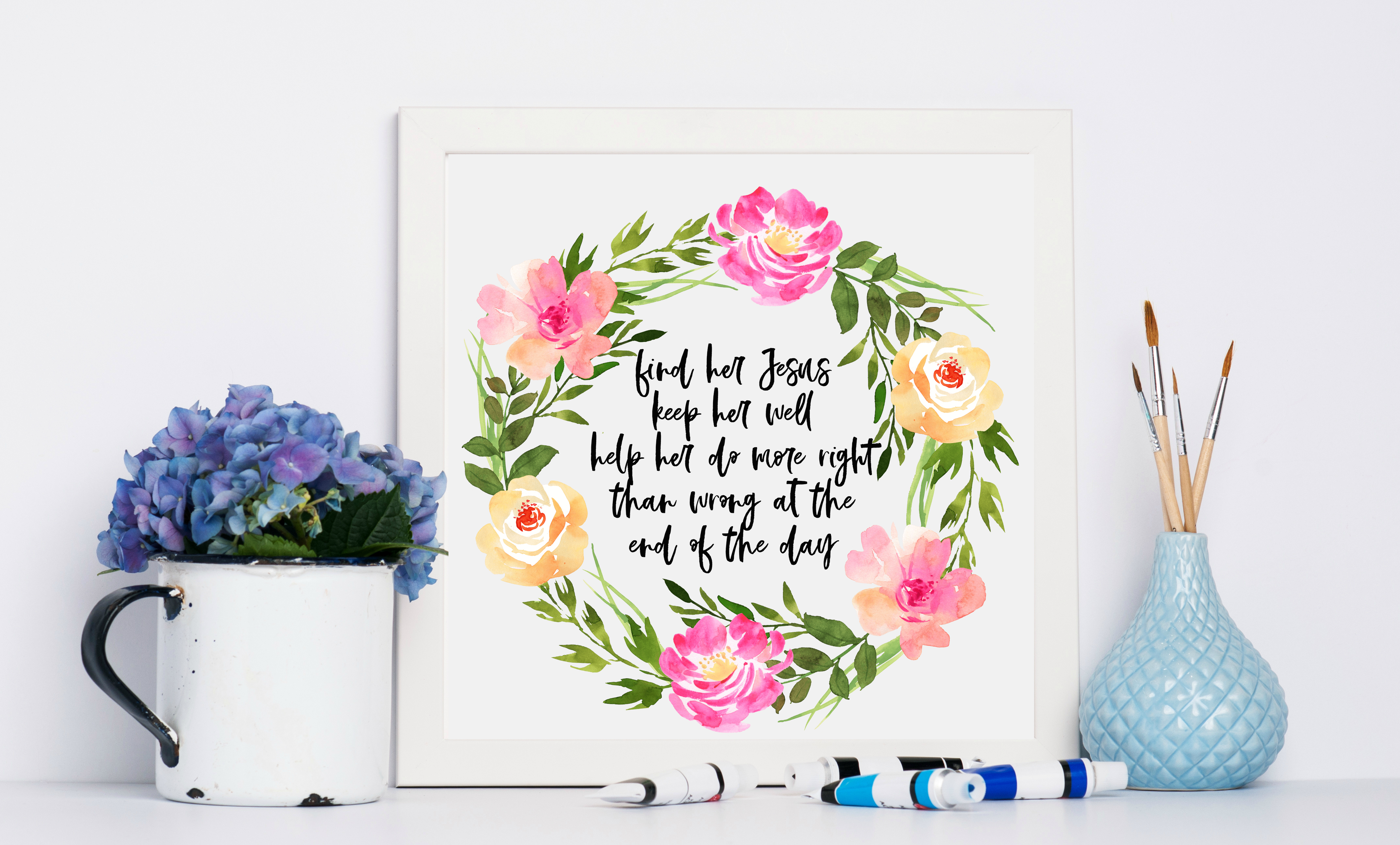 Free Printable Miranda Lamber Song Lyric Art