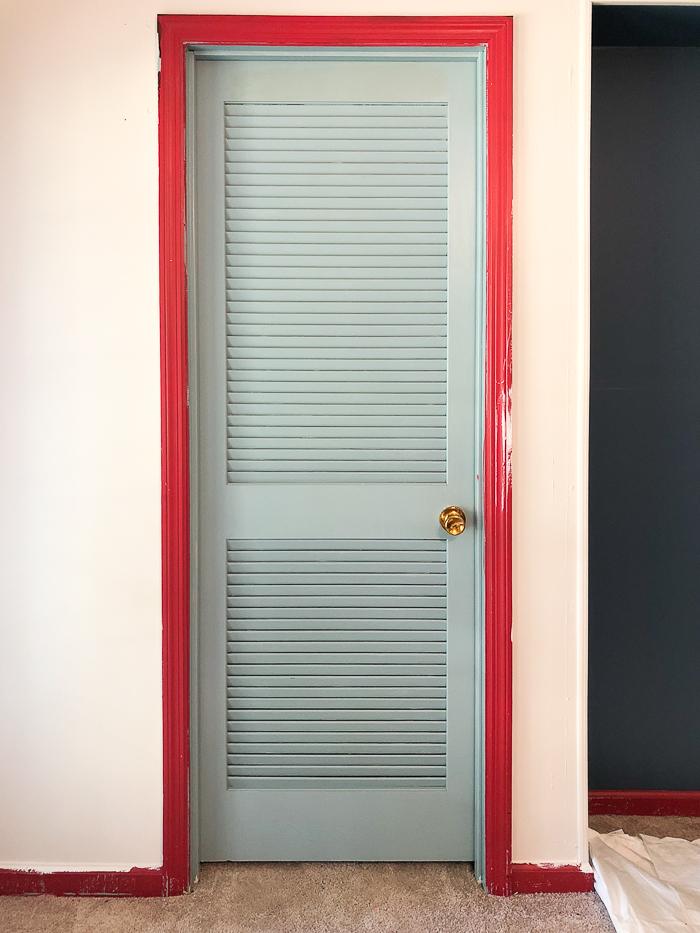 Diy Louvered Closet Door Makeover Big Bang For Your Buck