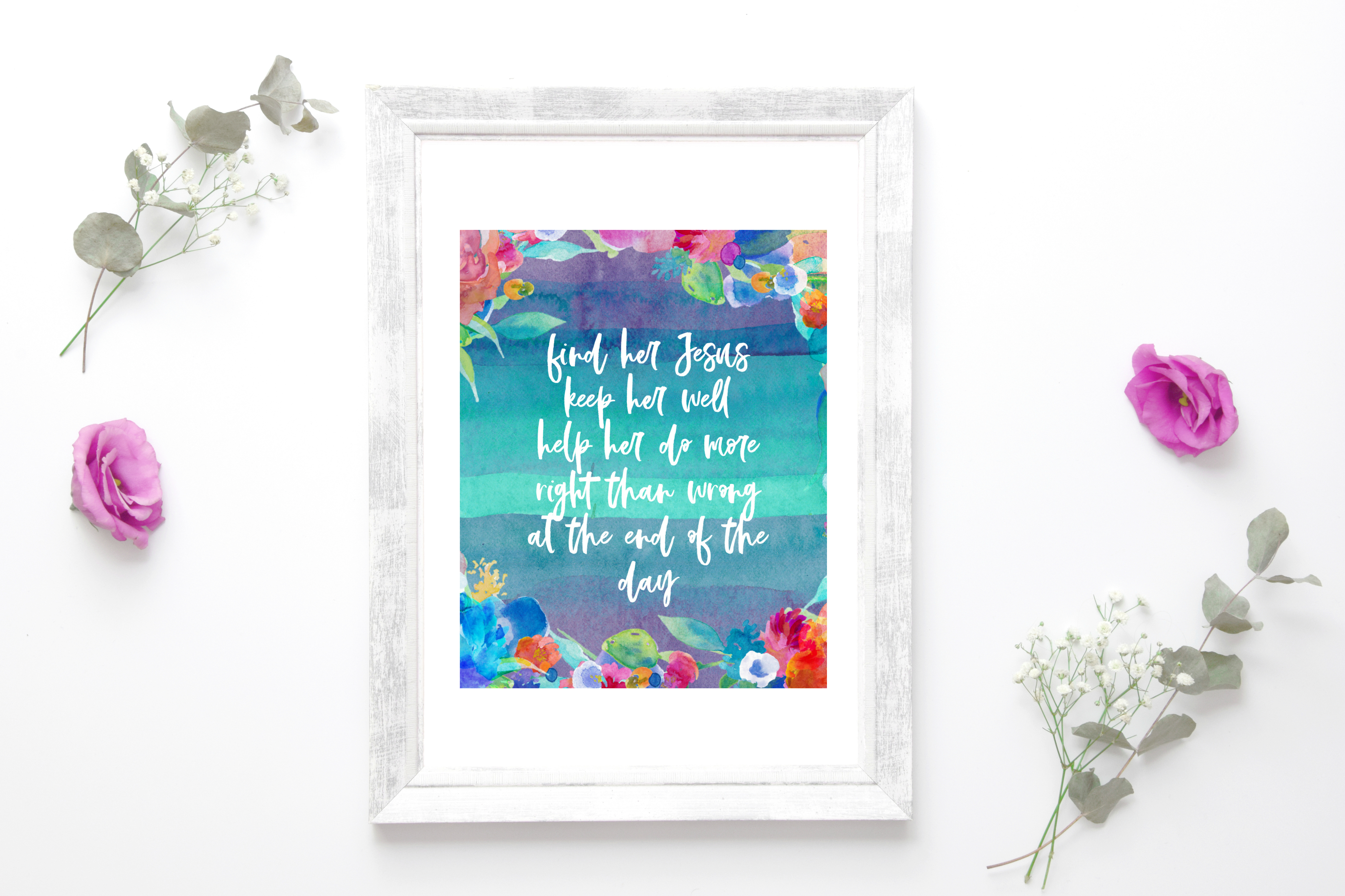Find Her Jesus Free Printable Art