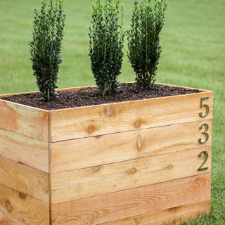 DIY Cedar Planter Box Plans
