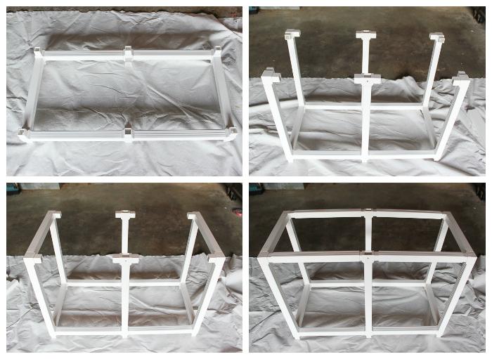 Cedar Planter Box Plans - constructing the frame.