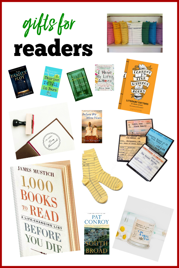 Gift Ideas for Readers