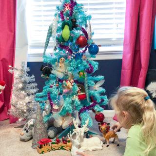 The Circus' Christmas Tree