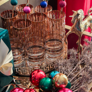 DIY Christmas Ornament Drink Stirrers