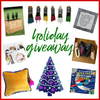 Holiday Giveaway – Seven Winners!