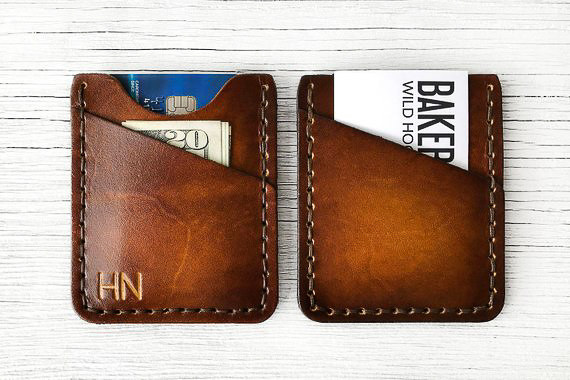 Personalized Gifts for Him - Leather Wallet