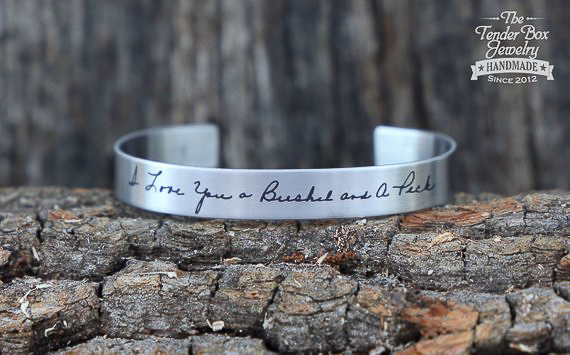 Unique Personalized Gifts - Handwriting Bracelet