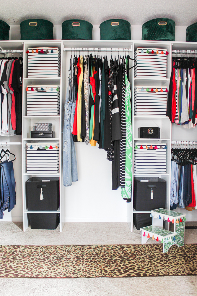 DIY Walk In Closet on a Budget