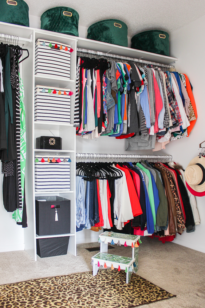 Master Walk In Closet Budget Ideas