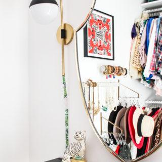 DIY Master Closet Makeover
