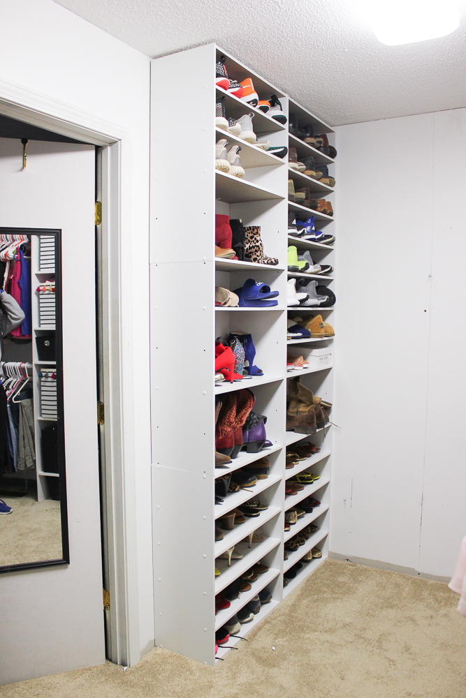 Master Closet Progress