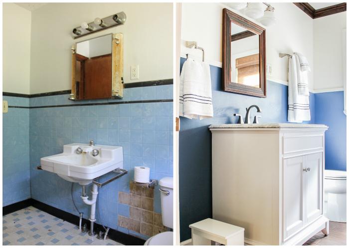 Bathroom Remodel on a Budget - Nine Ideas