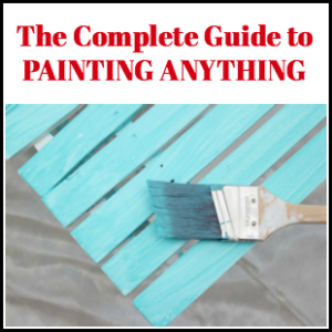 The Complete Guide to Painting Anything
