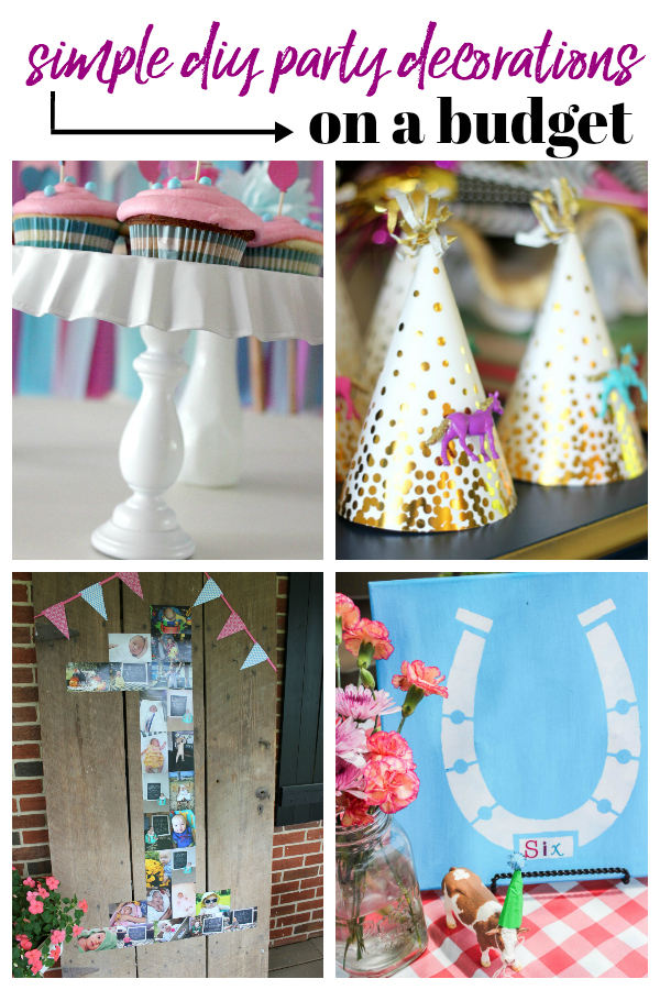 Fine Simple Diy Party Decorations On A Budget Home Interior And Landscaping Sapresignezvosmurscom