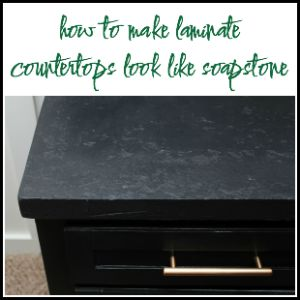How to Make Laminate Counters Look Like Stone