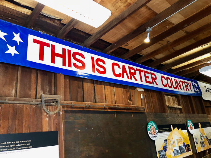 The Depot Presidential Campaign Headquarters for Jimmy Carter, Plains, GA