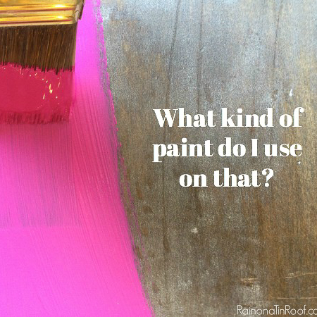 Types of Paint and When to Use Them