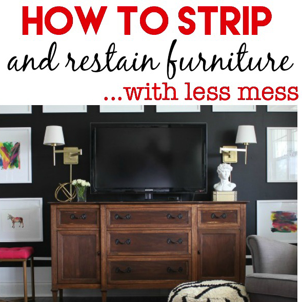 How to Strip and Restain Furniture