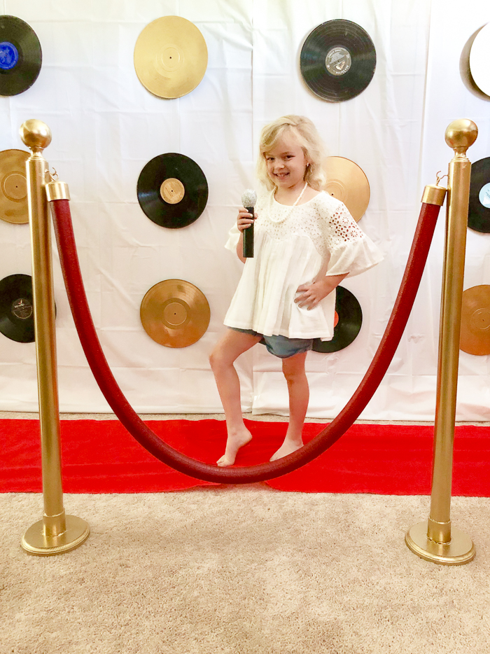 Red Carpet Birthday Party for Kids