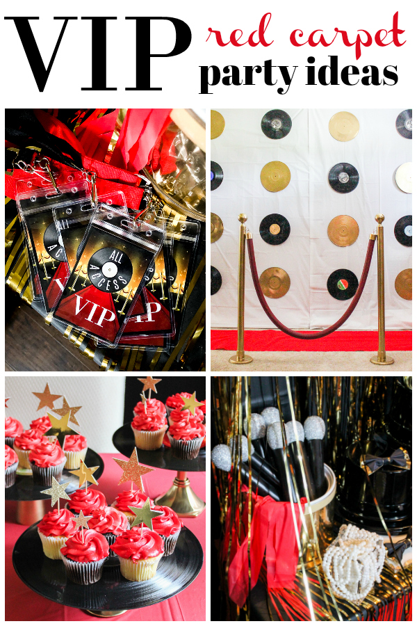 VIP Red Carpet Party Ideas