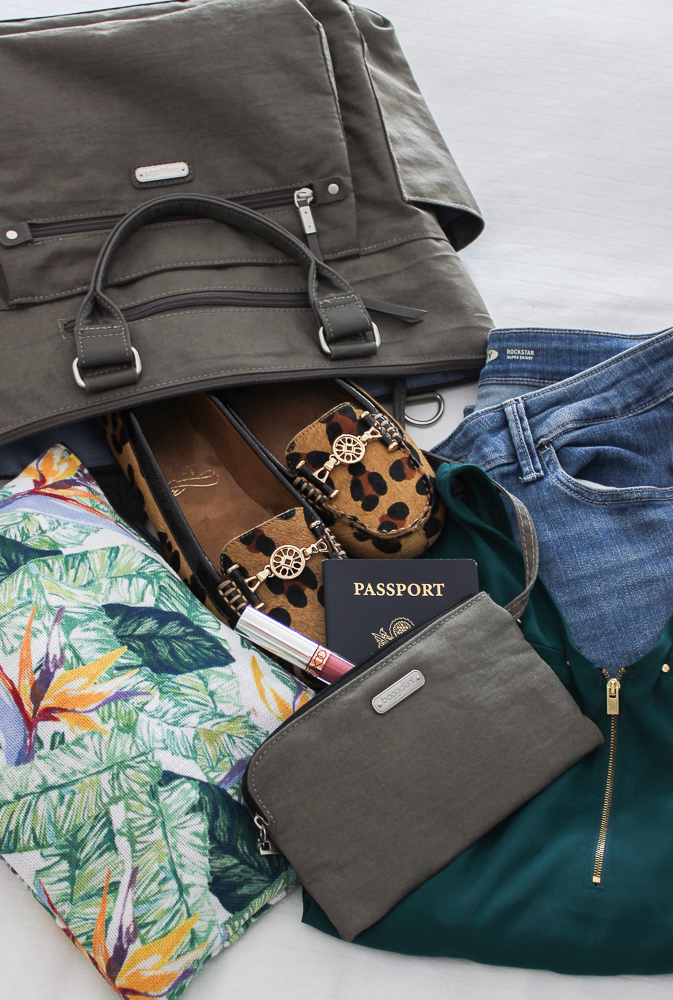 Baggallini 3-in-1 Convertible Backpack - great for overnight trips and a carry on.