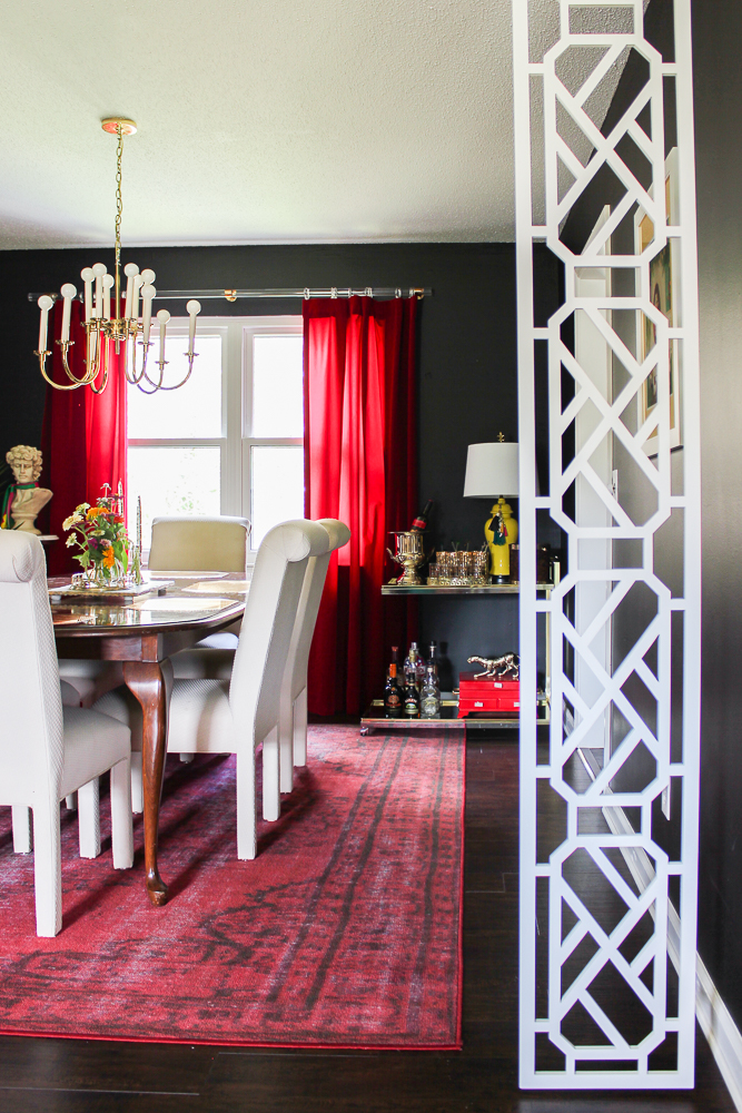 Glam Dining Room Makeover