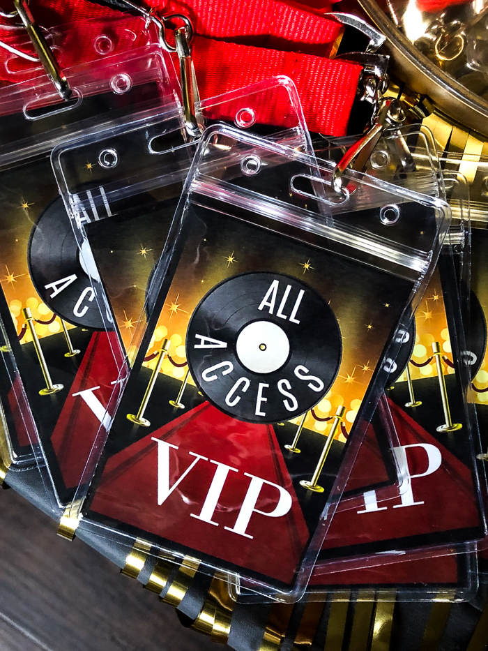 Free Printable VIP Pass