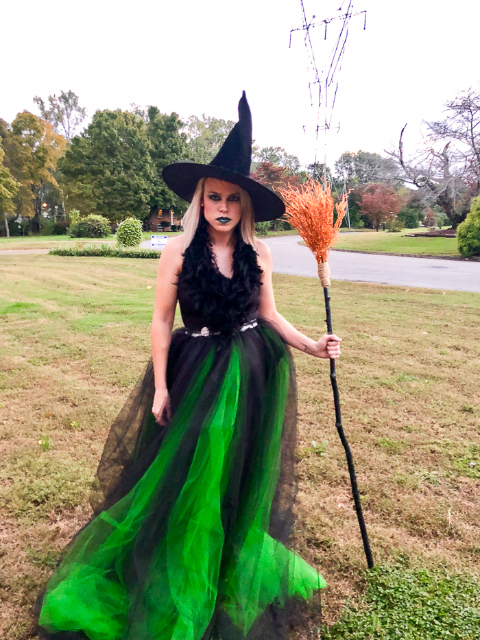 Diy Witch Costume Homemade Witch Costume Tutorial